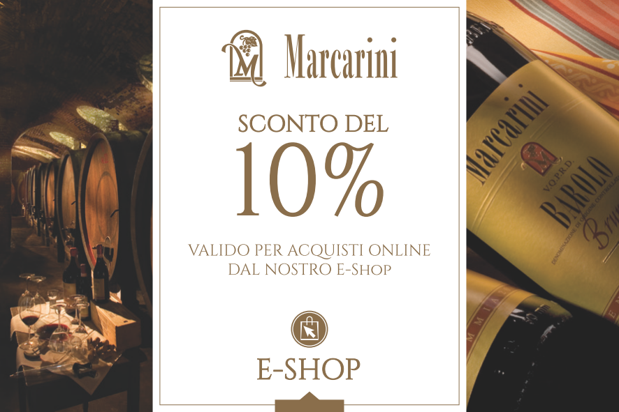 Marcarini coupon sconto e-shop
